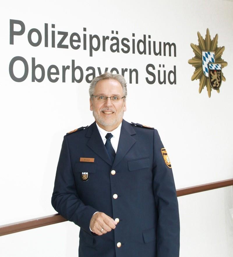 Polizeipräsident Robert Kopp, © Polizeipräsidium Oberbayern Süd