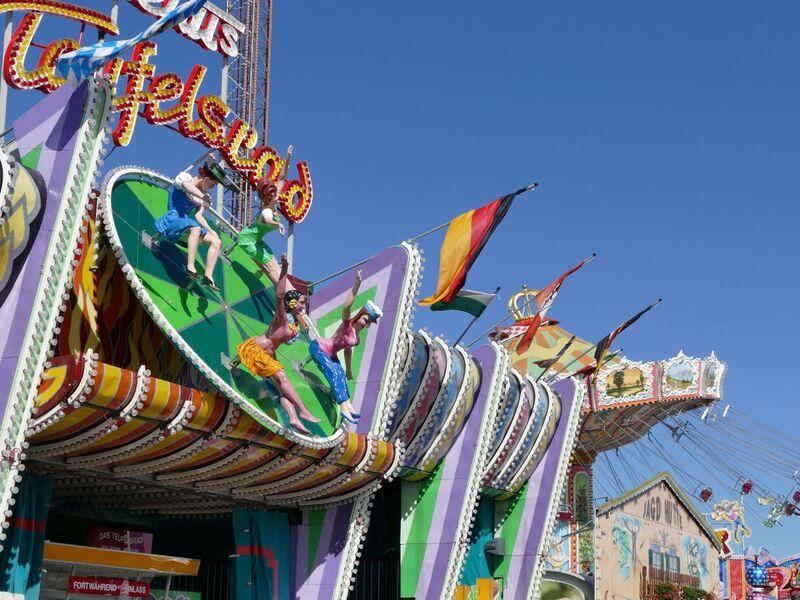 Oktoberfest: Das Teufelsrad auf der Wiesn