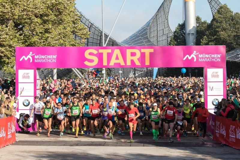 München Marathon Start, © Foto: MÜNCHEN MARATHON/Wilhelmi