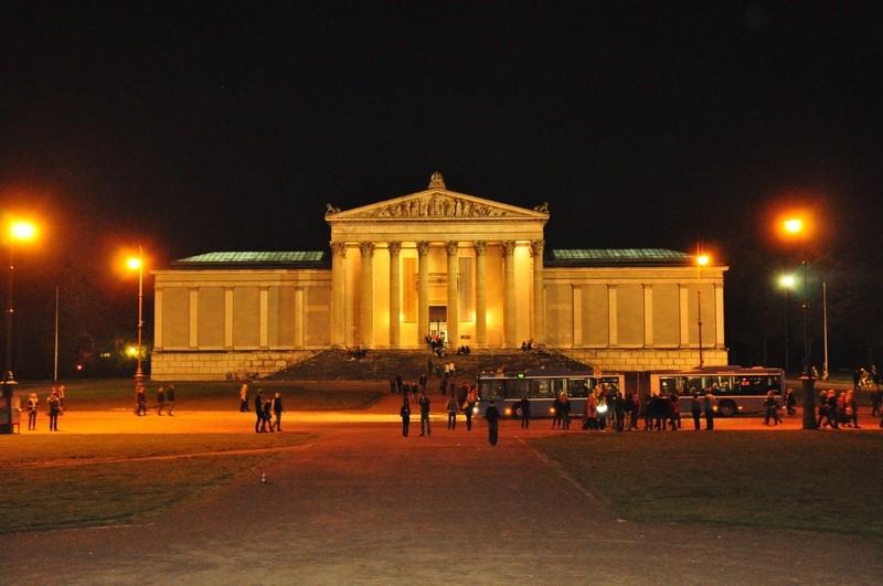 Museumsnacht München Königsplatz, © Foto: Maren Köhler