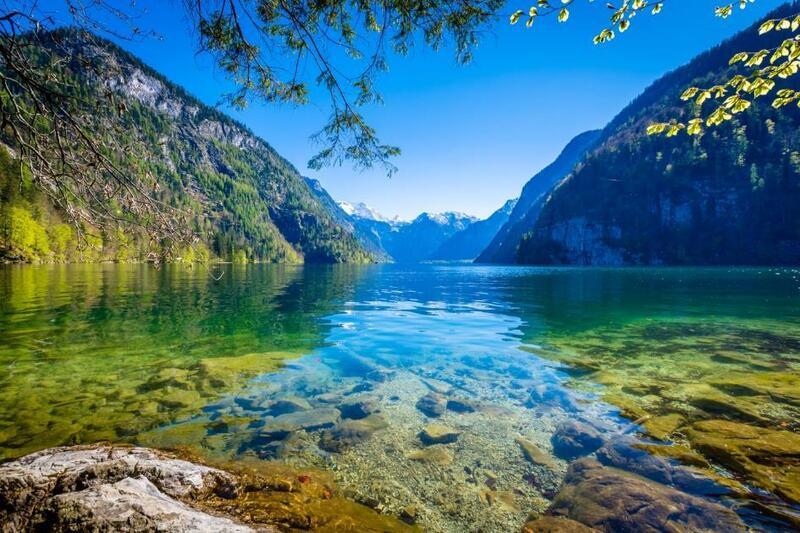 © Der Königssee im Nationalpark Berchtesgaden. fotolia.de © CPN #163872925