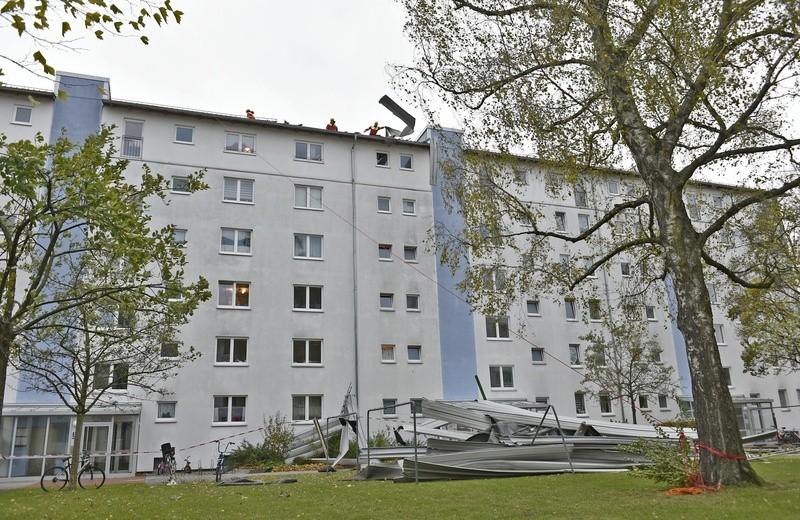 Prager Straße, Feuerwehr, Unwetter