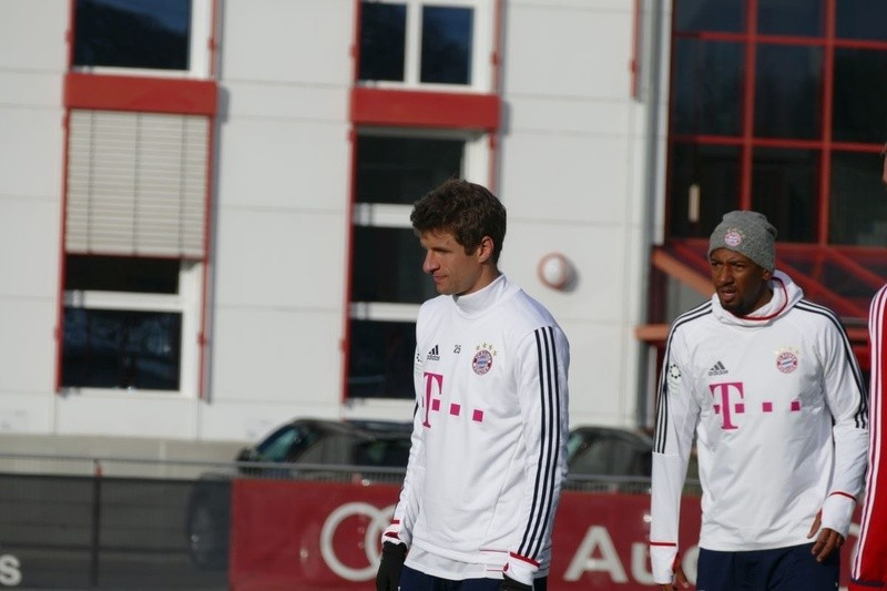 © Thomas Müller und Jerome Boateng