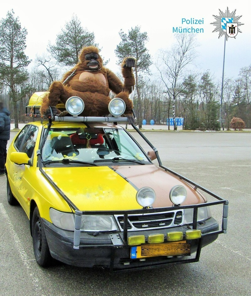© Eines der verkehrsunsicheren Fahrzeuge