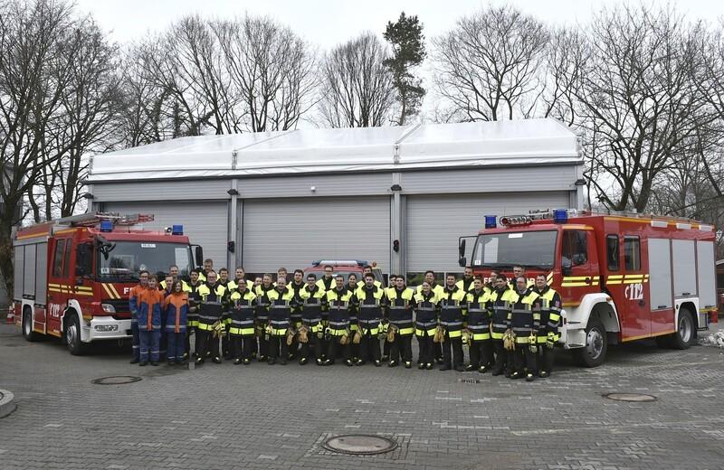 Feuerwehr_Freimann_Fahrzeughalle_Brand, © Foto: Berufsfeuerwehr München