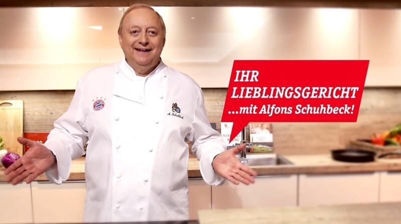 Ihr Lieblingsgericht... mit Alfons Schuhbeck