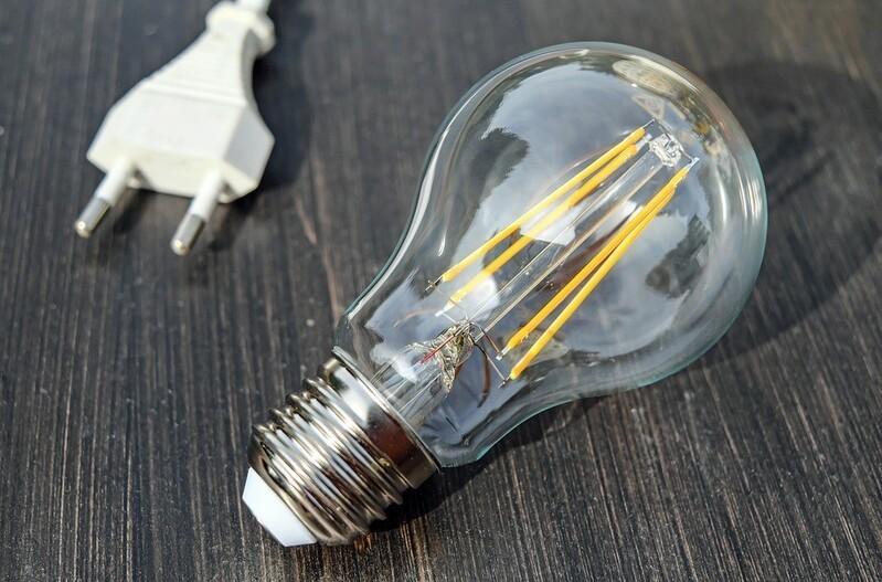 Glühbirne Strom Licht