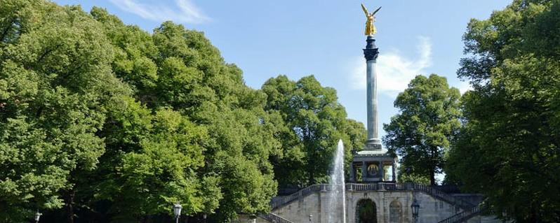 Der Friedensengel in München