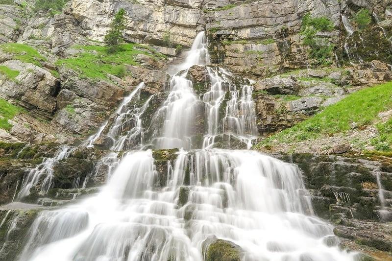 Kuhflucht-Wasserfälle bei Garmisch-Partenkirchen