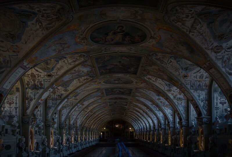 Residenz München - hier soll es einen Geist geben