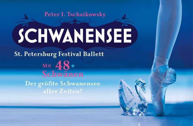 Schwanensee Plakat