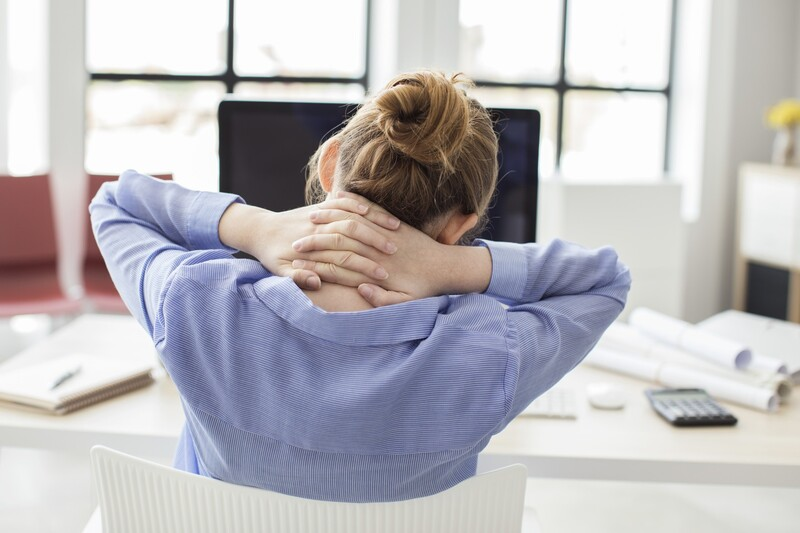 Arbeit, sitzen, Rücken, ©  fotolia.com