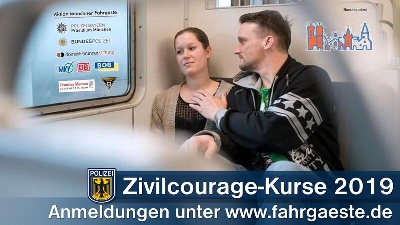 Zivilcourage, Bundespolizei, Selbstverteidigung, Kurse, © Bundespolizei
