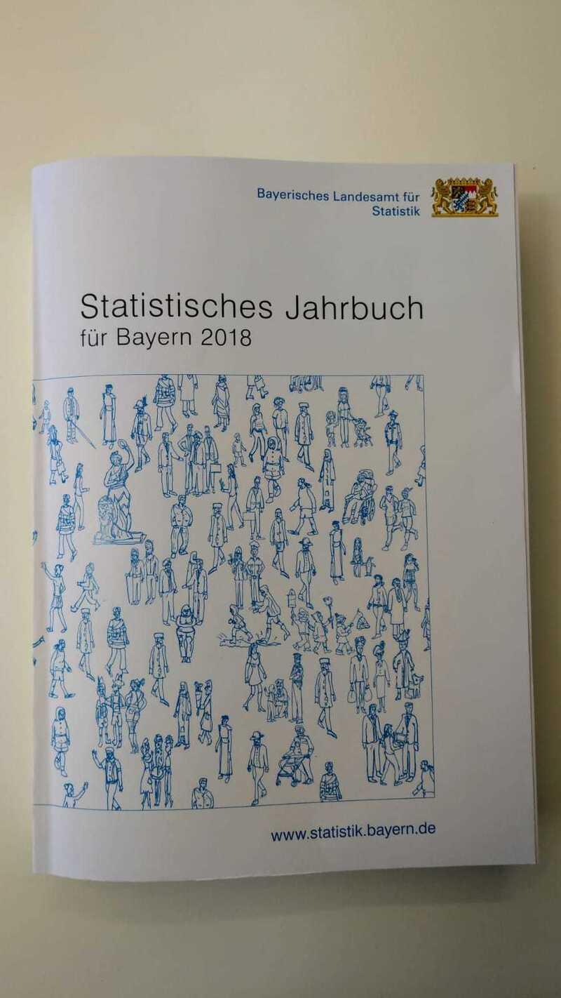 Statistisches Jahrbuch  Bayern 2018