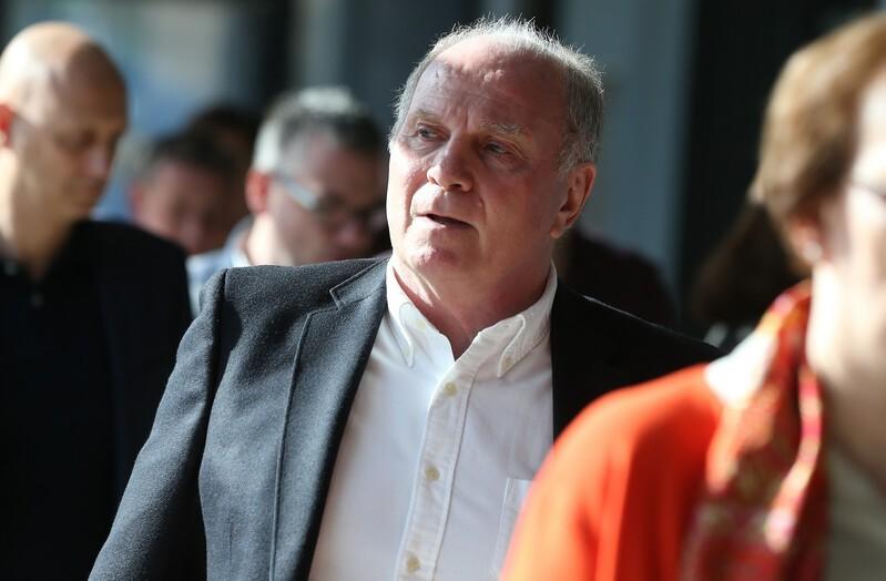 Uli Hoeneß, Präsident des FC Bayern München, © GEPA pictures/ Marcel Engelbrecht