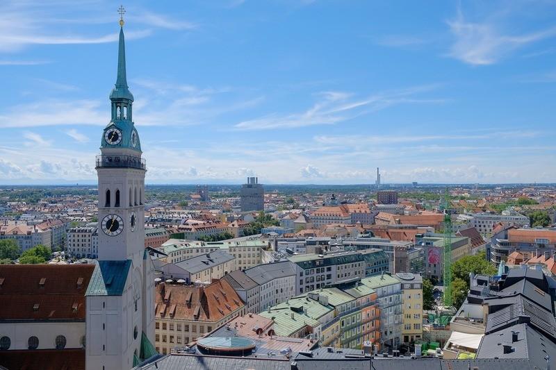 """© So groß München auch ist, es finden sich nur noch """"Restbestände"""" an unvermieteten Gewerbeimmobilien.  pixabay.com © Heinz_Hofmann_Photography"""
