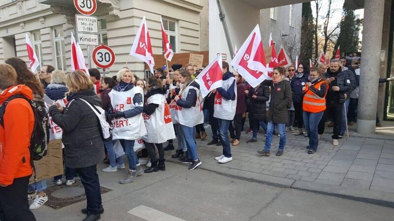 Streik im öffentlichen Dienst von Verdi
