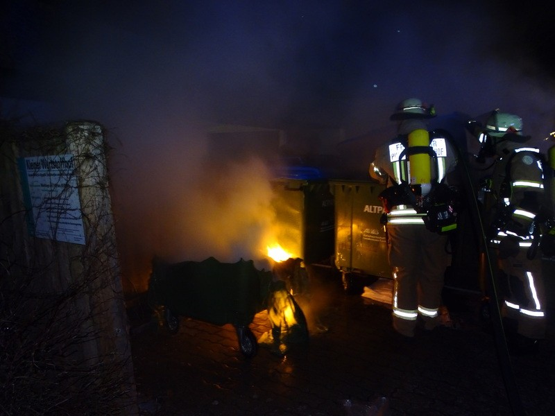Feuer in Puchheim