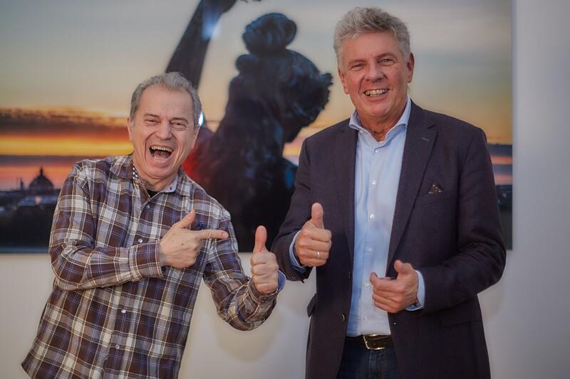 Günther Sigl und Dieter Reiter
