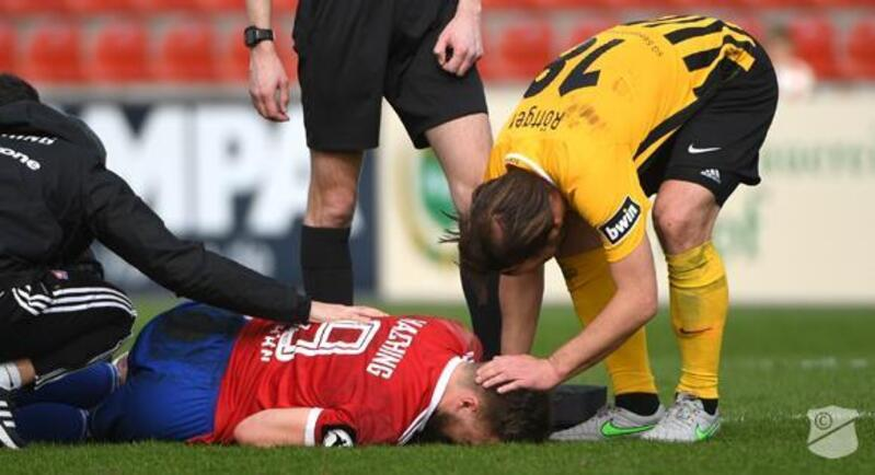Stephan Hain verletzt