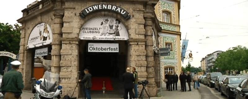 Der Löwenbräukeller in München