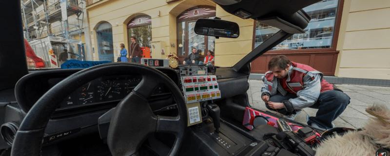 DeLorean, © Foto: Phil Schmidt