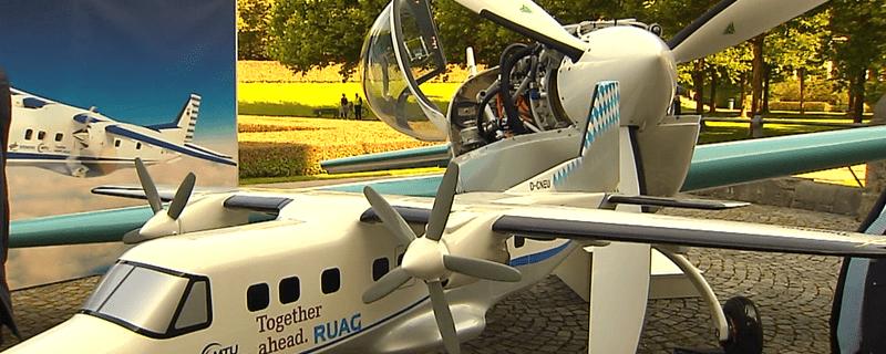 Mehrere Flugtaxis wurden in München präsentiert