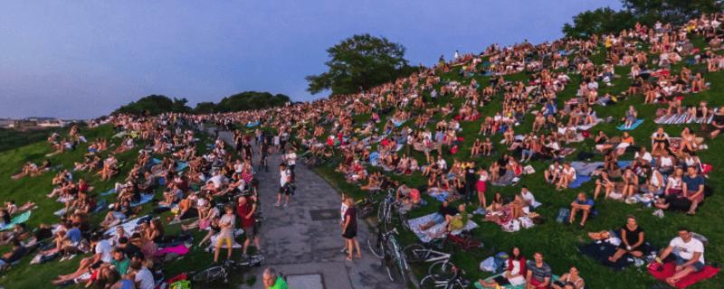 So sah der Olympiaberg während Ed Sheerans Konzert am Montag aus., © BESTVIEWS