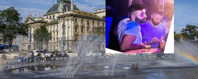 © Fahndung nach diesen zwei Männern - Polizei München