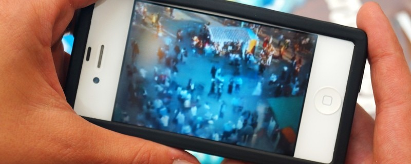 so sieht die Oktoberfest-Live-Cam auf dem Smartphone aus