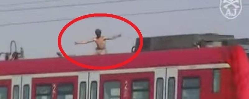 © Symbolfoto: S-Bahn-Surfer in München - Quelle YouTube: strainsurfer