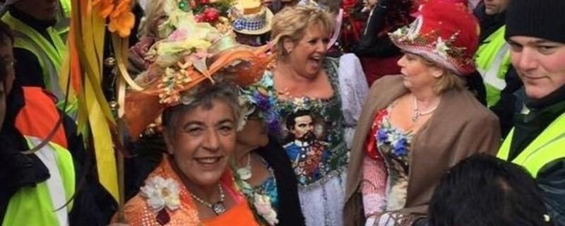 fasching muenchen tanz der marktweiber am viktualienmarkt