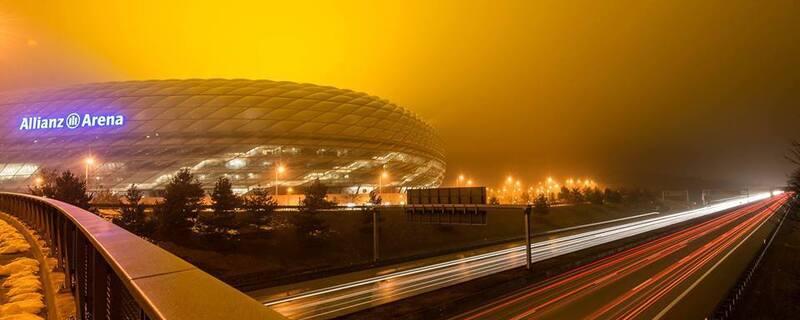 Die Allianz Arena in München, © Die Allianz Arena in München: Foto: TOJE Photografie