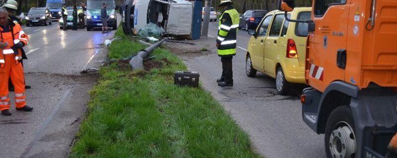 Unfall Sekundenschlaf Feuerwehr