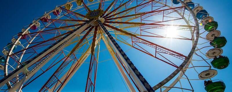 Münchner Frühlingsfest: Das Riesenrad , © Münchner Frühlingsfest: Das Riesenrad - Foto : TOJE Photografie