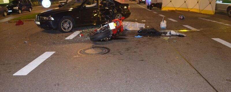 verkehrsunfall motorrad