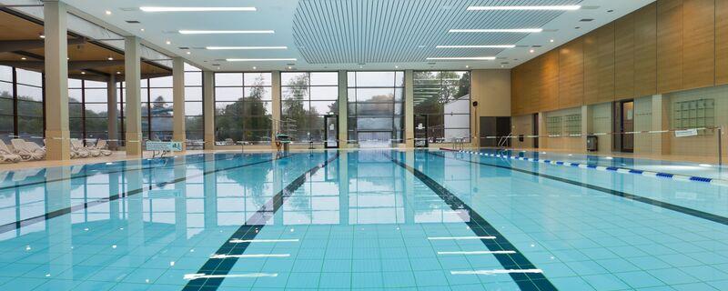 Schwimmbecken vom Michaelibad, © Foto: Stadtwerke München