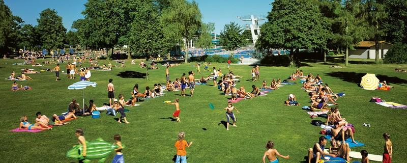 Die Freibadsaison kann beginnen. , © Die Freibadsaison kann beginnen. Foto: SWM
