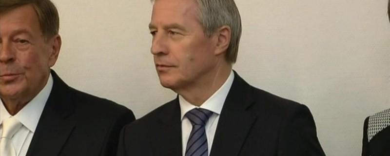 Jürgen Fitschen, der Co-Vorsitzende der Deutschen Bank AG beim Prozessbeginn in München, © Jürgen Fitschen beim Prozessbeginn in München