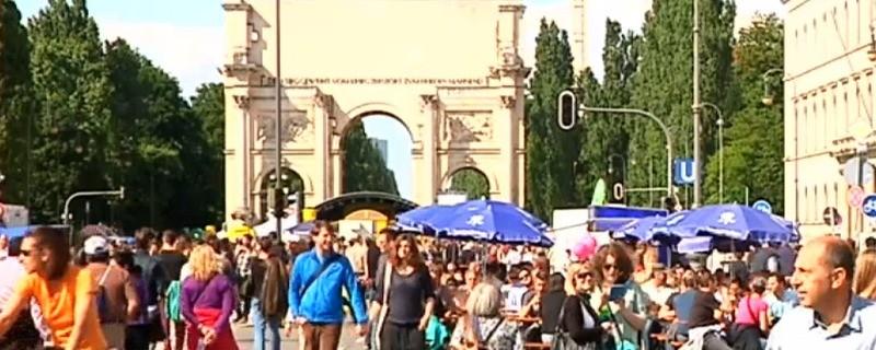 © Die Leopold - und Ludwigstraße verwandeln sich wieder in Münchens größte Flaniermeile
