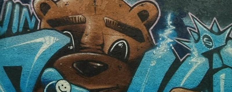 Graffiti in München , © Symbolfoto