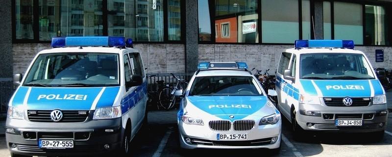 Die Dienstfahrzeuge der Bundespolizei am Hauptbahnhof, © Foto: Bundespolizei