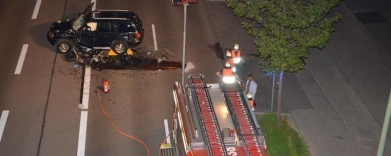 Unfall auf der Landsberger Straße fordert ein Todesopfer. , © Foto: Polizei München