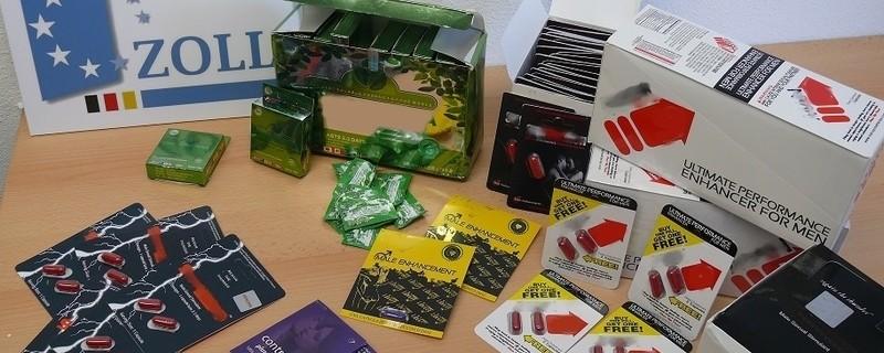 Beschlagnahmte Medikamente des Zolls, © Foto: BFV