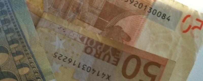 155 Euro Bargeld in Geldscheinen