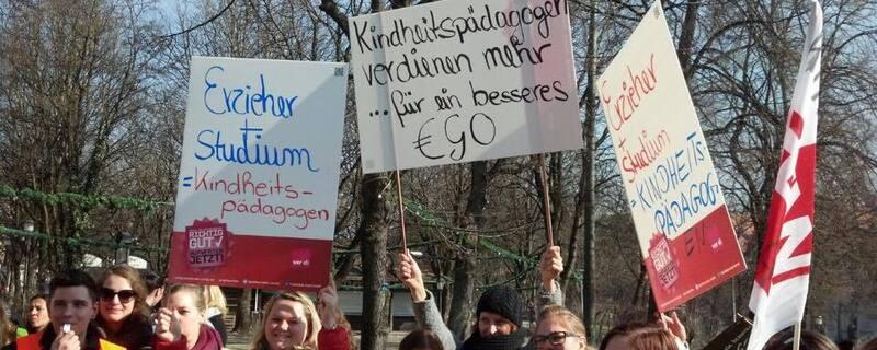 Kita Erzieher Streik München