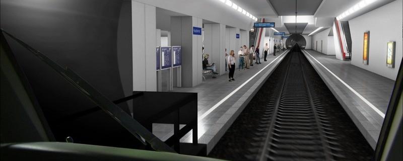 Modell der 2. Stammstrecke, © Foto/Visualisierung: Deutsche Bahn AG/Fritz Stoiber Productions