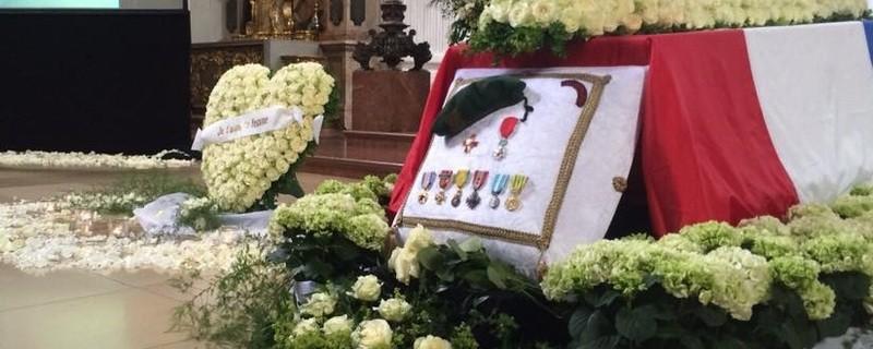 Die Trauerfeier von Pierre Brice in der St. Michael Kirche