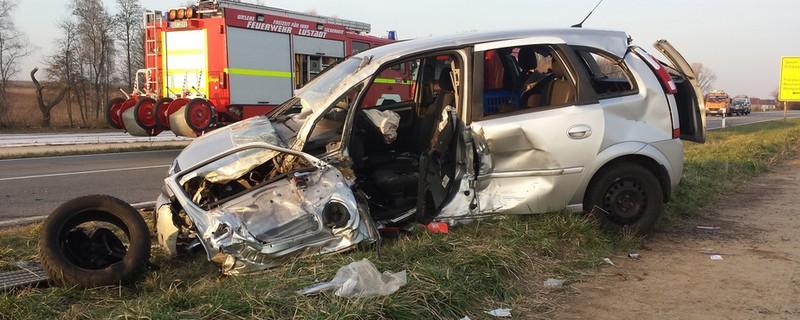Es ereignete sich ein schwerer Autounfall., © Symbolfoto. Foto: pb press/Fotolia.com