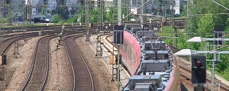 S-Bahn fährt auf der Stammstrecke